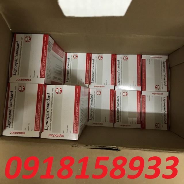 Thuốc tê Pháp 2% Lignospan Septodont chinh hang gia re 0918158933